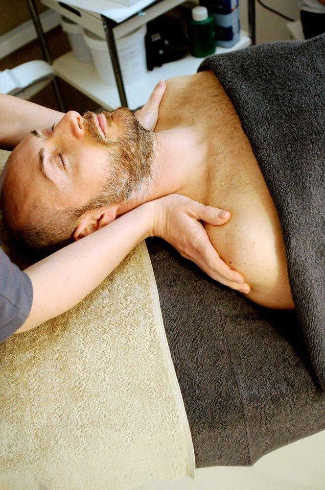 En massasje lar deg slappe av